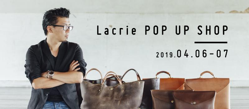 Lacrie POP UP SHOP