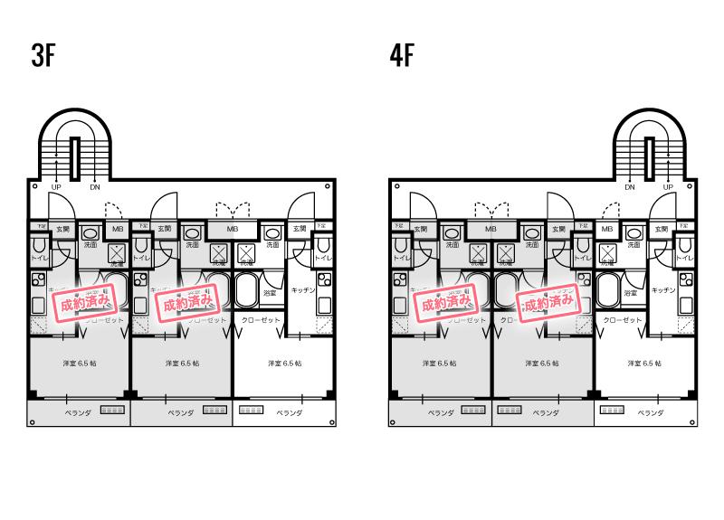 高知市北川添の賃貸物件空室状況