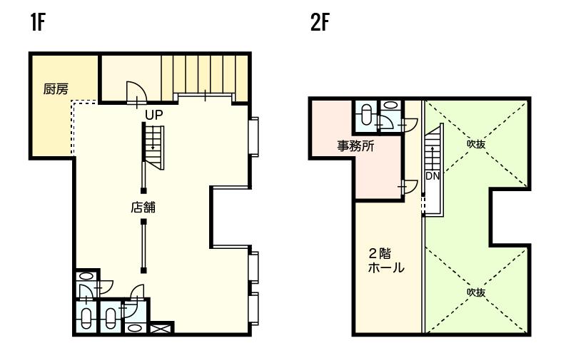 高知市桜井町の賃貸物件間取り図