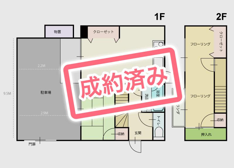 高知市中久万の賃貸物件空室状況