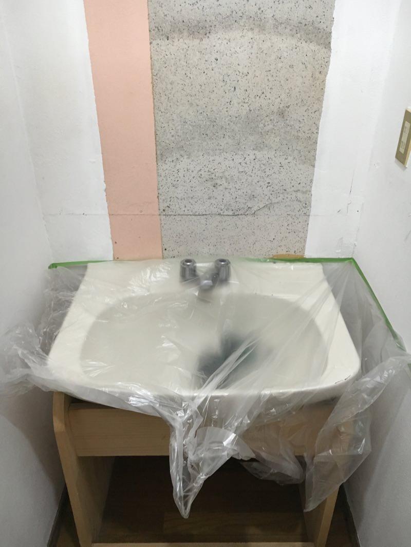 洗面台のセルフdiy画像3